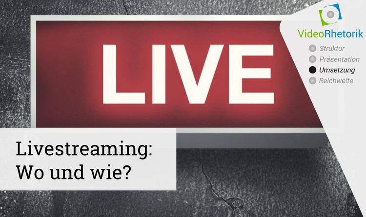 was bedeutet streamen auf deutsch