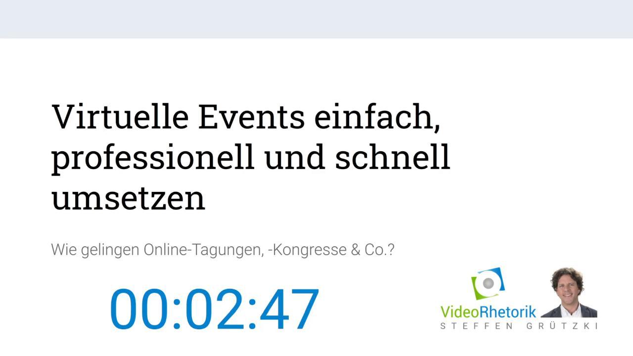 OBS-Studio Beispiel Livestream-Countdown