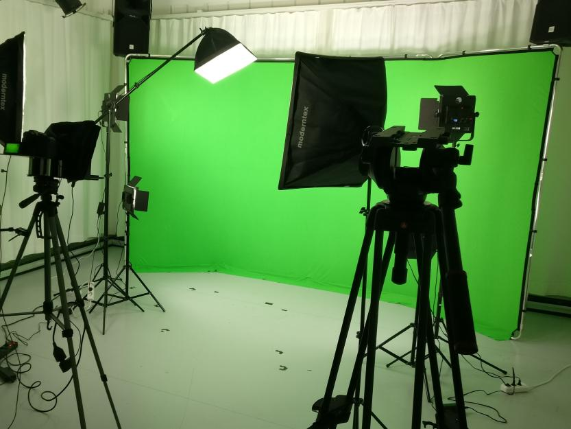 VideoRhetorik Greenscreenstudio