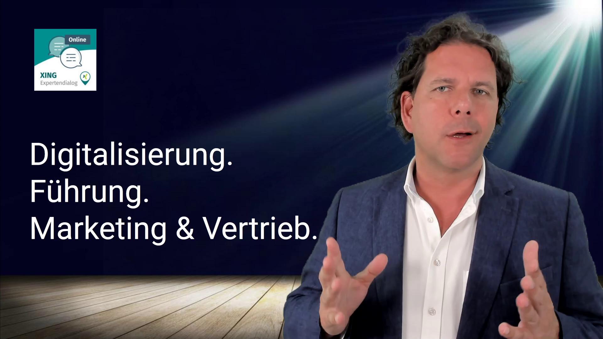 Veranstaltungsmoderation online: Steffen Grützki beim XING-Expertendialog