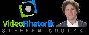 Videorhetorik-Logo Sidebar Video Rhetorik Experte Steffen Grützki