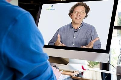 Vorschau Feedback-Video auf Monitor